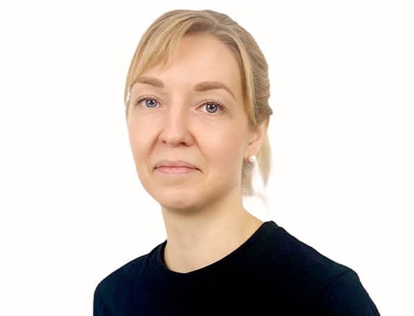 Hanna Kerve, Koulutettu hieroja